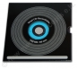 Preview: CD-R 700 MB Carbon in Vinyloptik, Label: farbig