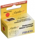 Primera 56122 Replacement Ribbon Cartridge Red - Restposten